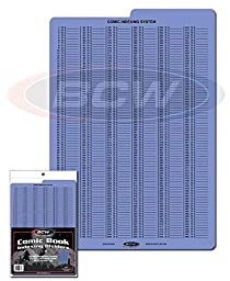 Comic Book Collecting Index Dividers (Pack of 10)