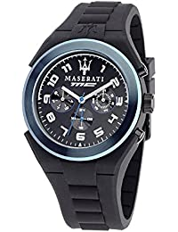 Men's R8851115007 Analog Display Quartz Black Watch