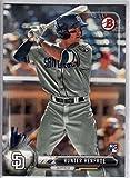 2017 Bowman #99 Hunter Renfroe San Diego Padres Rookie Baseball Card