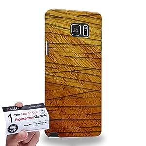 Case88 [Samsung Galaxy Note 5] 3D impresa Carcasa/Funda dura para & Tarjeta de garantía - Art Mummifed Style Fabric