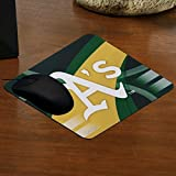 MLB Oakland Athletics Carbon Fiber Mousepad, One Size, Multicolor