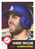 #10: 2018 Topps Living Set #17 Chris Taylor Baseball Card Los Angeles Dodgers - Only 4,837 made!