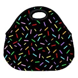 Best PackIt Ladies Lunch Bags - DKISEE Sprinkle Large & Thick Neoprene Lunch Bags Review