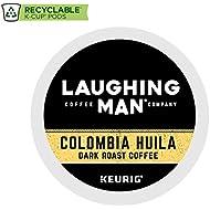 Laughing Man Hugh Jackman Single-Serve Fair Trade Keurig Recyclable K-Cup Arabica Coffee Pods