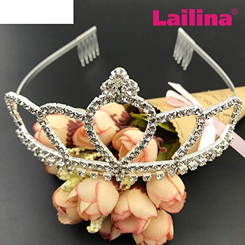 Bridal Crystal Hair Bands Hair Bands Bride Bridesmaid Diamond Crown Tiara Diadem Hoop Headband Headdress Hair Accessories Jewelry