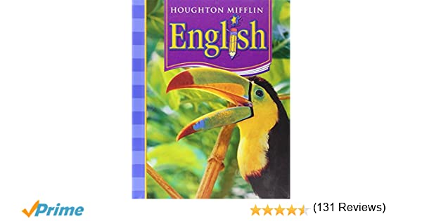 Houghton Mifflin English: Student Edition Non-Consumable Level 4 ...