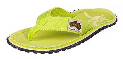 GUMBIES Zehentrenner Kinder, Lime Turtle, Größe 29