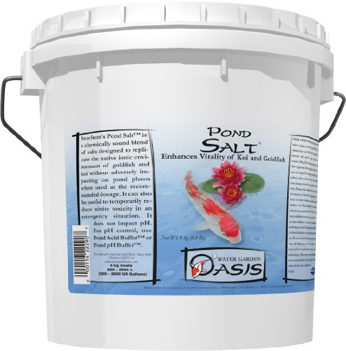 (Pond Salt, 4 kg / 8.8 lbs)