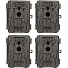 Moultrie A-5 Low Glow Infrared Trail Game Camera, 4-Pack (Certified Refurbished)