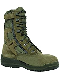 610z Sage GreenHot Weather Tactical Boot w/Side Zipper