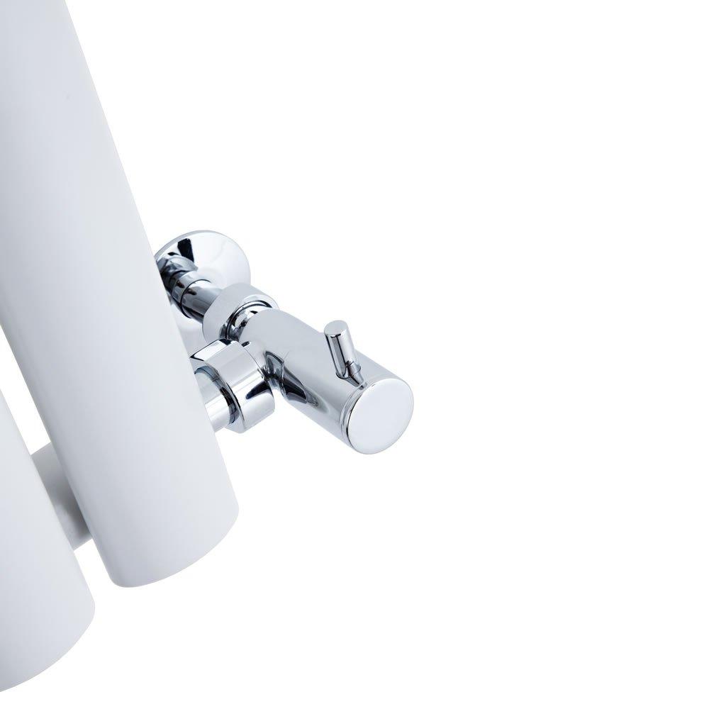 BestBathrooms Design-Heizk/örper Horizontal Wei/ß Premium Paneelheizk/örper f/ür Zentralheizung 600 x 1000 mm Perfekt f/ür K/üche Einlagig Bad /& Wohnzi mmer
