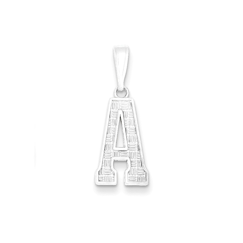 Goldia Sterling Silver Initial A Charm