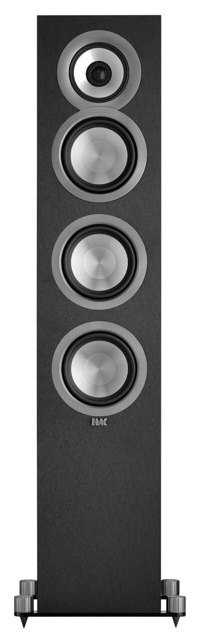 ELAC Uni-fi UF5 Floorstanding Speaker (Black, Single) by Elac