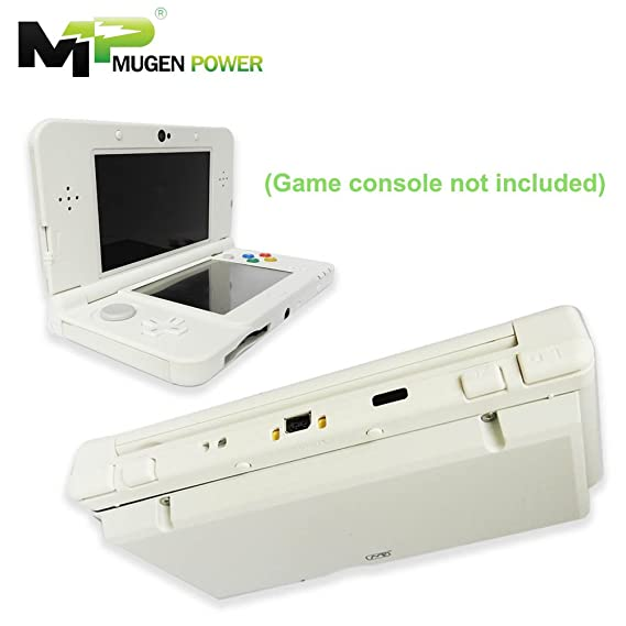 Mugen Power For Nintendo New 3DS 5000mAh Triple Power Extended Battery Kits  - with Upgrading Tools and MP Back Cover Included