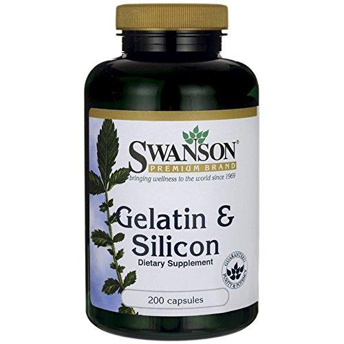 Swanson Gelatin & Silicon 200 Caps