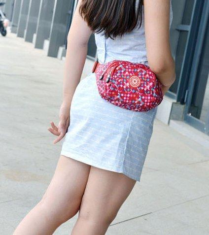 Cygoshop Womens Portable Outdoor Sport Hiking Waist Pack Bum Bag Travel Pouch Waist Pocket