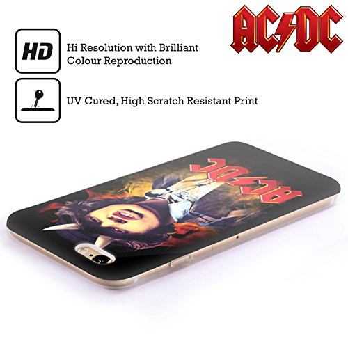 Officiel AC/DC ACDC Angus Young Solo Étui Coque en Gel molle pour Apple iPhone 5c