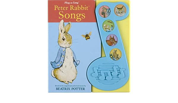 Amazon.com: Peter Rabbit Songs Sound Book (The World of Beatrix ...
