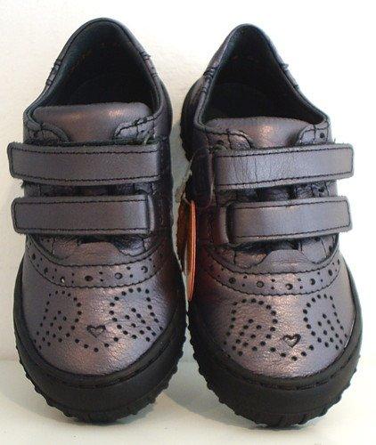 Couro Sapatos Platinsilver Sneaker Velcro Froddo Baixos gqzRTRd
