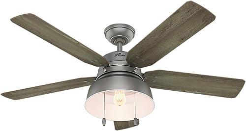 Hunter Mill Valley Indoor / Outdoor Ceiling Fan