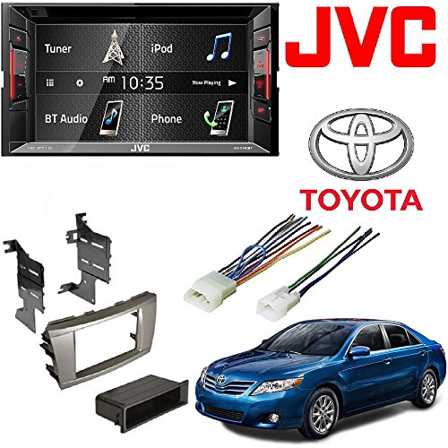 "JVC Double Din BT in-Dash DVD/CD/AM/FM Car Stereo w/ 6.2"" To"