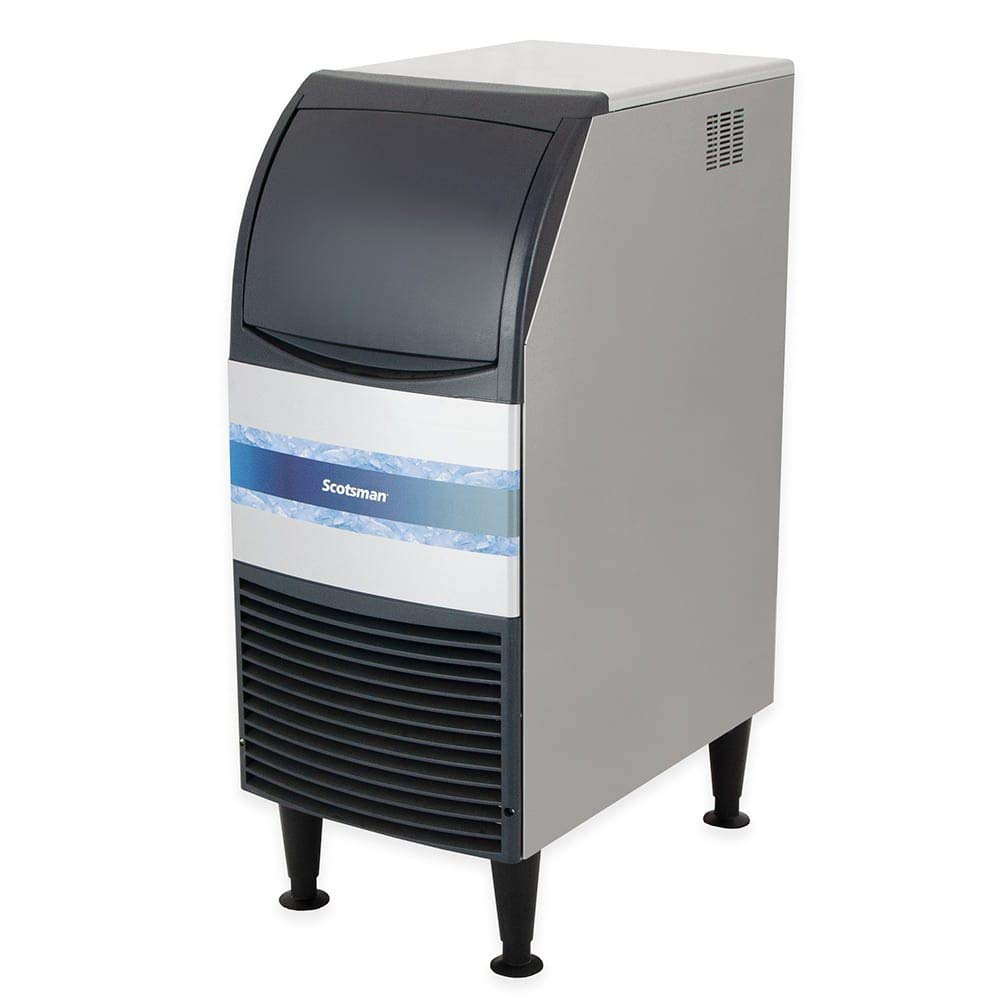 Scotsman CU0715MA-1 Undercounter Full Cube Ice Maker - 80 lbs/day, Air Cooled, 115v