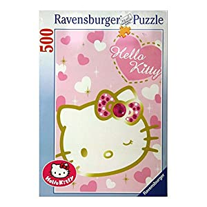 Ravensburger Italy Puzzle 500 Pezzi Hello Kitty Multicolore 4005556145768