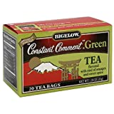 Bigelow Constant Comment Green Tea 20ct (Pack of 4)