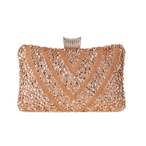 Clutch Purse Crystal Beaded Evening Clutch Purse Formal Party Prom Evening Bag
