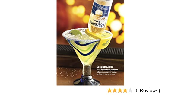 Amazon.com: Coronita Rita Corona Bottle Holder Holds a Beer In Your Margarita Glass Yellow Version: Home & Kitchen