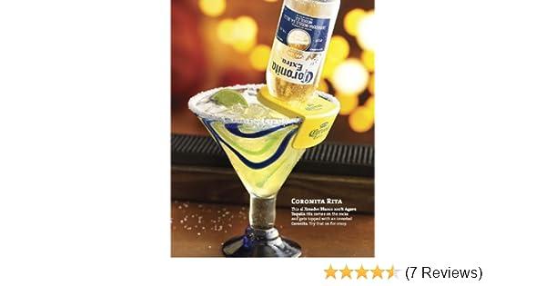 Amazon.com: Coronita Rita Corona Bottle Holder Holds a Beer In Your Margarita Glass Yellow Version: Home & Kitchen