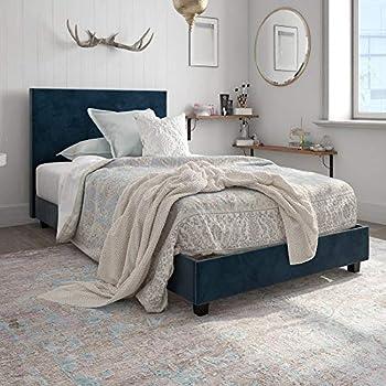 Amazon Com Boyd Sleep Montana Upholstered Platform Bed