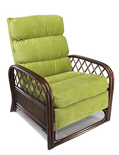Alder Chair Upholstered (Urban Design Furnishings Made in USA Rattan Recliner Chair)
