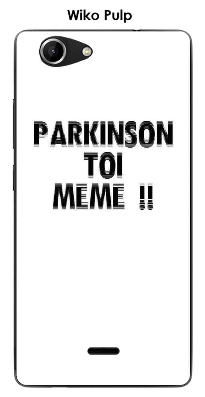 Onozo Carcasa Wiko Pulp Design Parkinson: Amazon.es: Electrónica