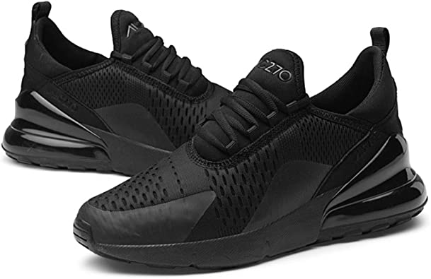 Zapatillas de Deporte con amortiguación de Aire para Hombres Zapatillas de Baloncesto con Cordones de Moda Zapatillas de Baloncesto Confort Transpirables Zapatillas de Deporte Gruesas para Correr: Amazon.es: Zapatos y complementos