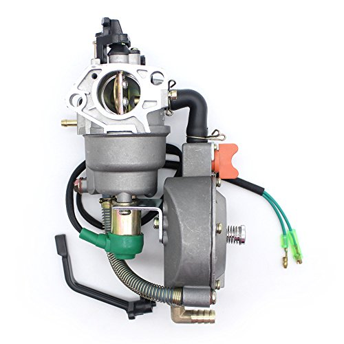 dual fuel carburetor with Manual choke LPG NG propane CONVERSION KIT for gasoline generator 4.5-5.5KW GX390 188F carburetor