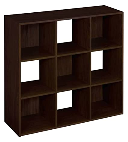 ClosetMaid 8937 Cubeicals Organizer, 9 Cube, Espresso