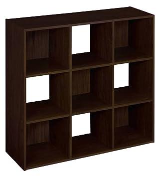 ClosetMaid (8937) Cubeicals Organizer, 9 Cube   Espresso