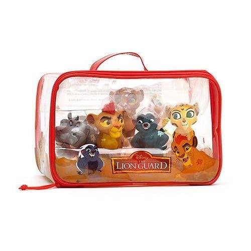 Official Disney The Lion Guard 6 Bath Toy Set