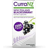 CURRANZ Natural New Zealand Black Currant Anthocyanin Concentrate Supplement Capsules
