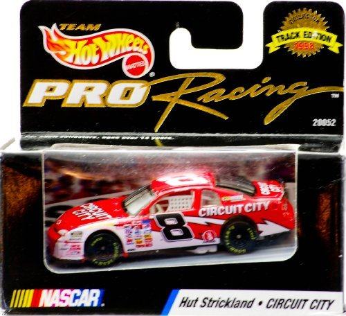 Hot Wheels 1998 - Mattel - Team Pro Racing - Track Edition - NASCAR - Hut Strickland - #8 Circuit City - Monte Carlo - 1:64 Scale Die Cast - New - Out of Production - Limited Edition - Collectible