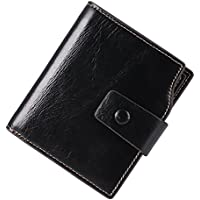 Itslife Women's RFID Block Bifold Leather Wallet Small Travel Credit Card Organizer