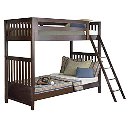 Amazon Com Liberty Furniture Abbott Ridge Twin Over Twin Bunk Bed
