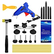 Super PDR® 14Pcs New Professional Auto Body Paintless Dent Removal Repair Tool Kits Glue Gun Hammer Bridge Tap Down Sets