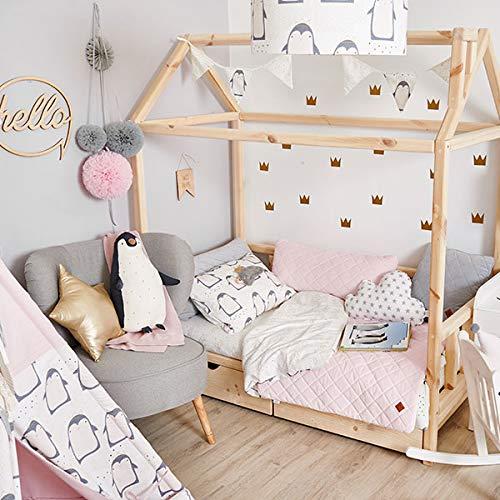 Baby Bettw/äsche Set S Lovely Pinguin