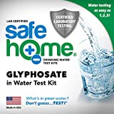 Safe Home GLYPHOSATE in Water Test Kit - Tested at Our EPA Certified Lab - Glyphosate has been Classified as a Carcinogen by the W.H.O. - Don't Guess. TEST!