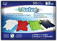 USolve New Eco-Friendly Ultra Concentrated Laundry Detergent Strips (50 Loads), The Future of Laundry - Fresh