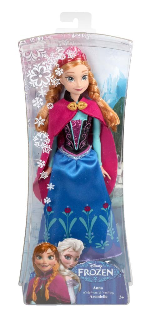 Amazon.com: Disney Frozen Sparkle Anna of Arendelle Doll