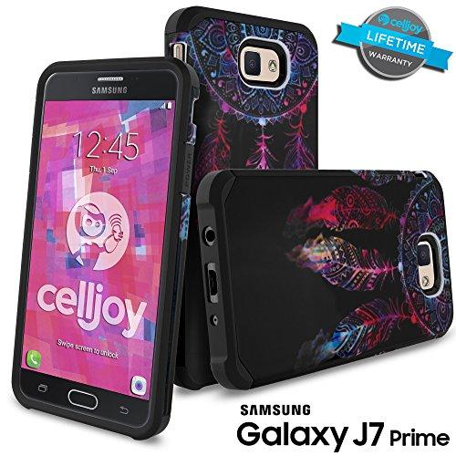 Slim Fit Hybrid Shockproof Case for Samsung Galaxy On7 (Black) - 7