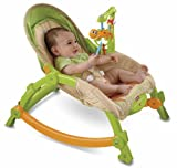 Image of Fisher-Price Newborn-to-Toddler Portable Rocker, Rainforest